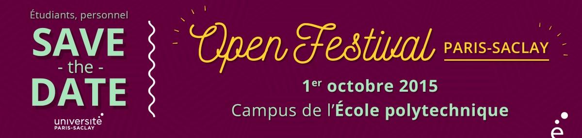 Affiche Open Festival 2015